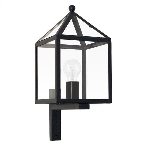 Außenwandlampe Bloemendaal - Wandlampe - Schwarz - KS Verlichting ...